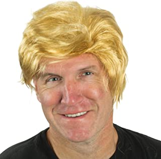 Funny Party Hats The Billionaire Wig - Mr. President Wig - Costume Wigs - Costume Accessories