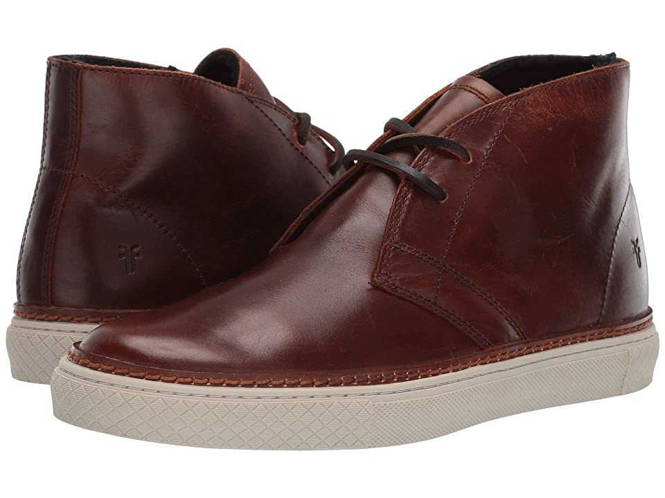 Frye Essex Chukka (Cognac WP Smooth Pull-Up/Shearling) Men