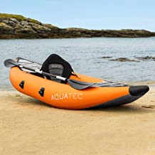 AQUATEC Kayak | Inflatable Kayak for Men, Women & Kids | Adventure & Fishing Kayak | Inflatable Boat Available as Single K...