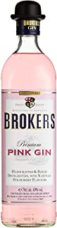 Brokers Gin Premium Pink Gin Erdbeergeschmack 40% vol. 1 x 0.7 l