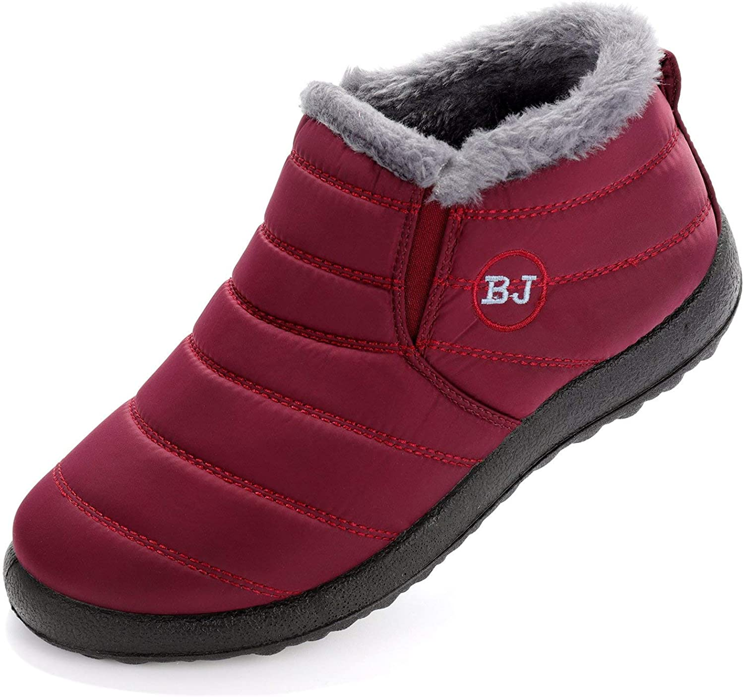 Womens Bargain Snow Boots Winter Warm Long Beach Mall Fur Ankle Lined Anti-Slip Booties