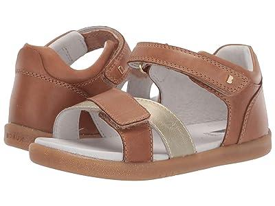 Bobux Kids I-Walk Sail (Toddler) (Caramel/Misty Gold) Girls Shoes
