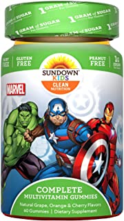 Sundown Kids Marvel Avengers Complete Multivitamin, 60 Gummies