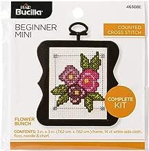Bucilla 46308E My First Cross Stitch Kit, 3