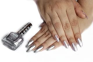 Miss Nails Nail Polish Pro77 Silver
