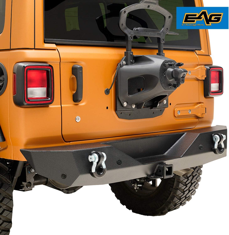 EAG Rear Bumper Rock Crawler with Bracket and Parking 引き出物 訳あり Sensor D-R