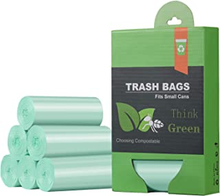 1.2 Gallon Small Trash Bags Garbage Bags, Mini Compostable Strong Bathroom Wastebasket Can Liners trash Bags for Home Offi...