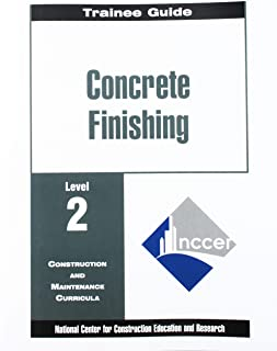 Concrete Finishing Level 2 Trainee Guide