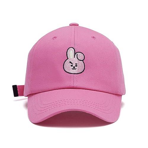 beac8f63fb9 BT21 Official Merchandise by Line Friends - Character Baseball Cap Hats for  Men and Women