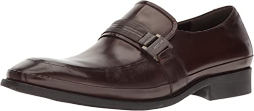 Kenneth Cole REACTION Men& 039;s Hit The Brick Slip-On Loafer, braun, 12 M US