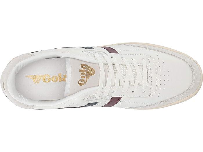 Gola Inca Leher White/burgundy/navy Sneakers & Athletic Shoes