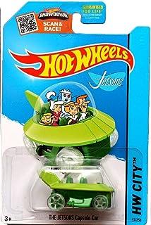Hot Wheels, 2015 HW City, The Jetsons Capsule Car #57/250