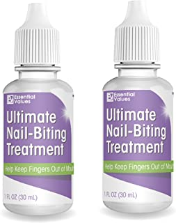 2 Pack Ultimate Nail-Biting Treatment (1 FL OZ), Stop Nail Biting & Prevent Thumb Sucking - Safe & Effective Solution to Kick the Naughty Habit – 3X's The Treatment Compared to Other Brands