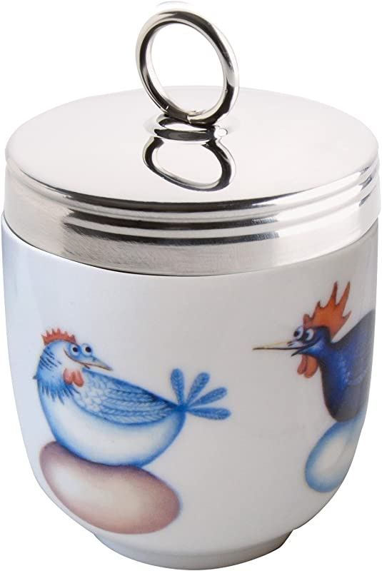 DRH Egg Coddler Egg Poacher White Chicken Hatching Eggs Clare Mackie