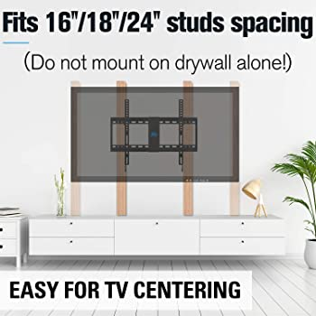 """Mounting Dream Tilt TV Wall Mount Bracket for Most 37-70 Inches TVs, TV Mount with VESA up to 600x400mm, Fits 16"""", 18..."""