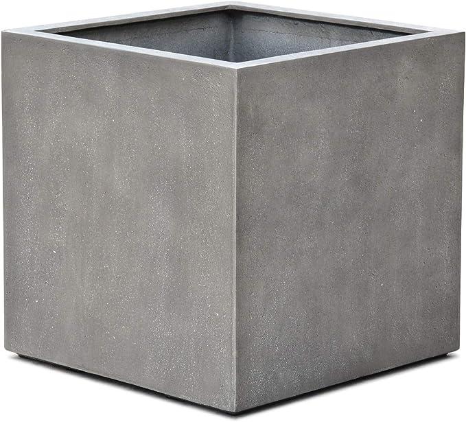 Manufaktur Qualit/ät 35 x 35 x 70 cm 10 Jahre Garantie VAPLANTO/® Pflanzk/übel High Cube 70 Blei Grau Quadratisch