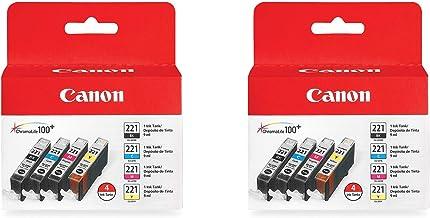 CLI-221 Four Color Pack CLI-221 Four Color Pack Compatible to MP980, MP560, MP620, MP640, MP990, MX860, MX870, iP4600, iP3...