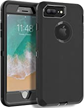 Sponsored Ad - MXX iPhone 8 Plus Heavy Duty Protective Case with Screen Protector [3 Layers] Rugged Rubber Shockproof Prot...
