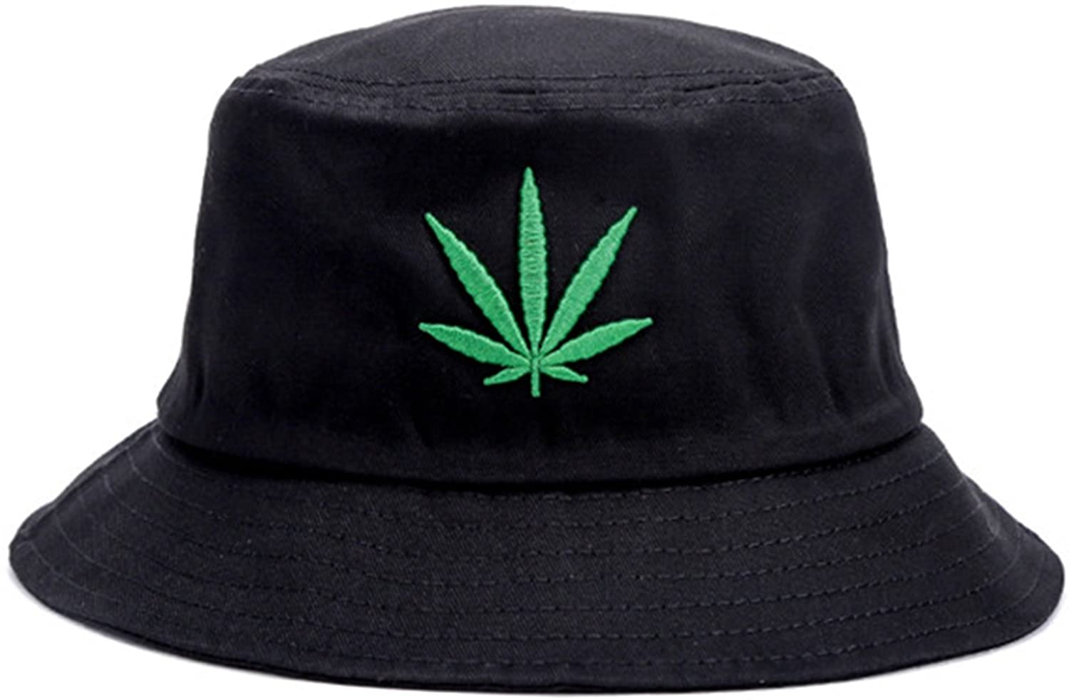 Cotton Bucket Hat Cap with Windproof Rope Foldable Snapback Men Women Camo and Solid