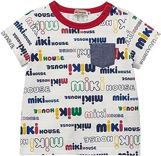 ミキハウス (MIKIHOUSE) Tシャツ 80cm マルチカラー 男の子 ベビーキッズ子供服 半袖 ロゴ ポケット付き