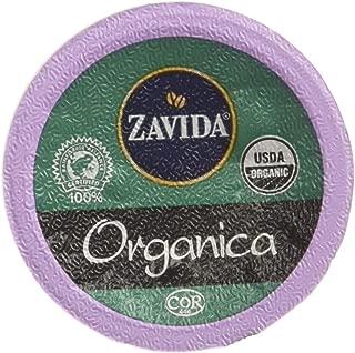 Zavida Coffee Organica Single Serve Coffee, Compatible with Keurig K-Cup Brewers, 24-Count