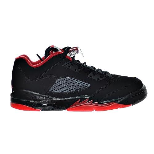 "6b40df992d7 Jordan Air 5 Retro Low (GS) ""Alternate 90"" Big Kid's Shoes Black"