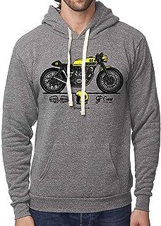 GarageProject101 GP Crew 002 - Yamaha SR400 Cafe Racer Pullover Hoodie