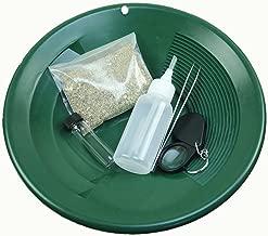 Gold Rush Mining Kit Pay Dirt-Gold Pan-Vial-Snuffer-Tweezers-Loupe