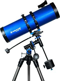 Meade Instruments 216006 Polaris 130 EQ Reflector Telescope (Blue)