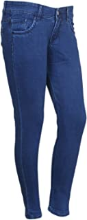 IndiWeaves Womens Slim Fit Casual Denim Jeans_Royal Blue Size: 28_71900-04
