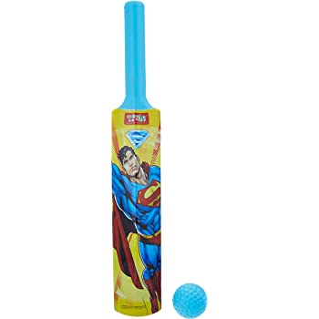 Superman Kids First Plastic Bat and Ball