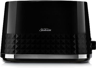 Sunbeam TA1900K Diamond Toaster, Black