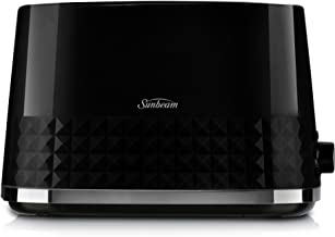 Sunbeam TA1900K Diamond Toaster, Black