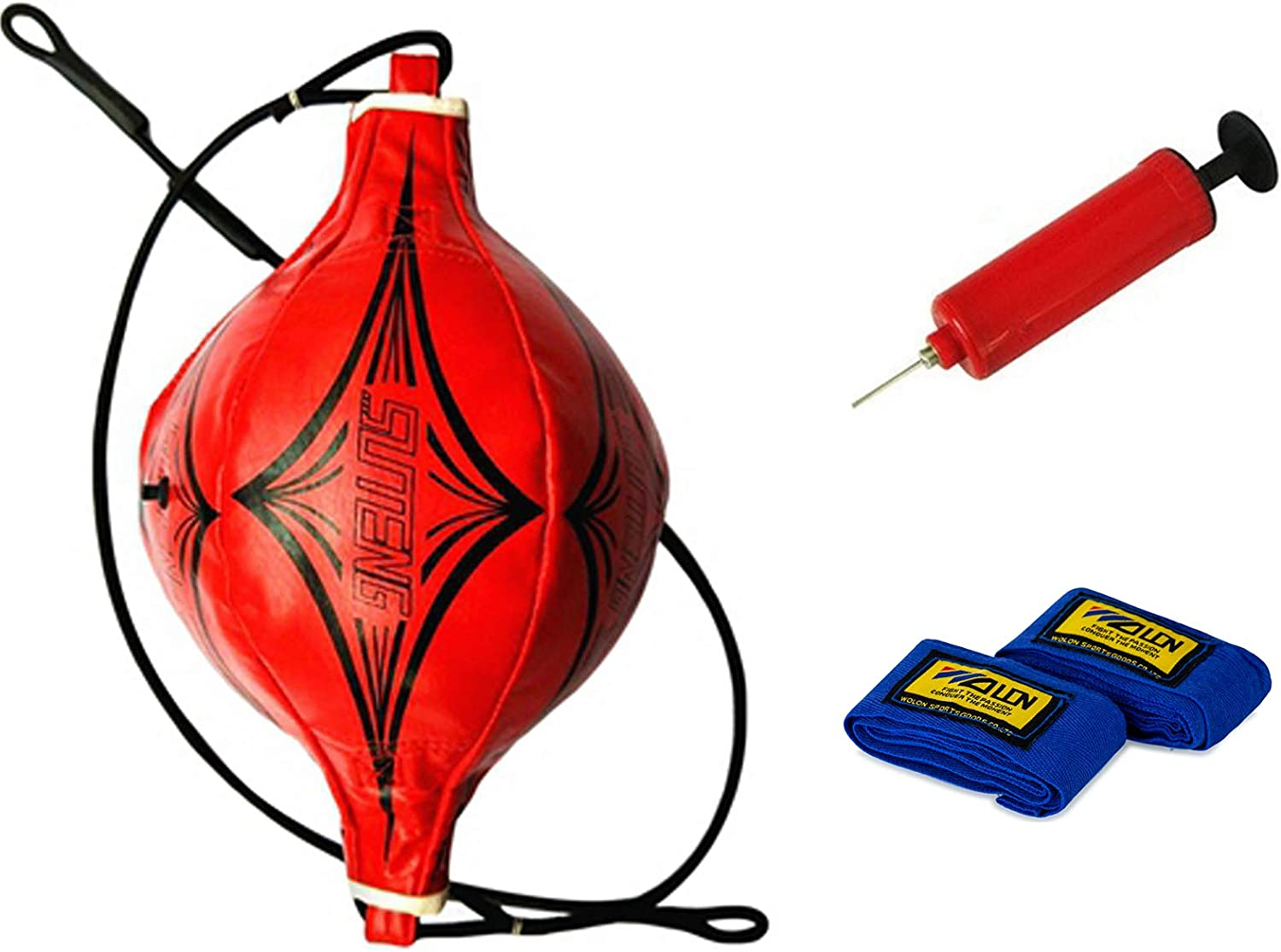 Sfeexun Double End Discount mail order Punching Bag Ranking TOP3 Boxing Air Pump with Speed Ball