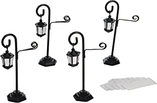 Kate Aspen 25057BK Streetlight Place Card Holder (Set of 4)