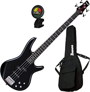 $209 » Ibanez GSR200 BK 4-String Electric Bass Guitar Bundle w/Bag & Tuner