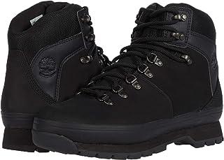 حذاء Timberland Euro Hiker مصنوع من الجلد والنسيج، أسود اللون، مقاس 5. 5 B (M)