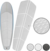 PUNT SURF Paddle Board SUP Traction Pad with 3M Adhesive - 12 Piece Customizable Deck Grip for Any Size Paddleboard. Provides Ultimate Traction and Comfort in Just Minutes. - Guaranteed to Stick on your Paddleboard Forever