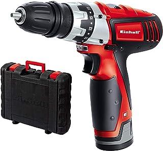 comprar comparacion Einhell TC-CD 12 Li - Taladro atornillador 12 V sin Cable con Cabezal Extraible, 2 velocidades, con cargador, batería 1.3 ...