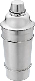 Reed & Barton 7517 Heritage Banded Bead Cocktail Shaker, Silver