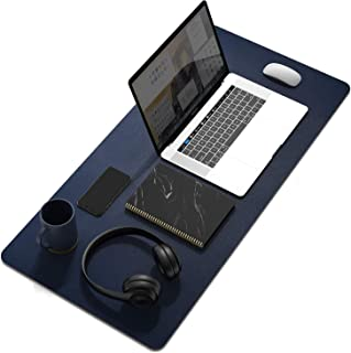 TECO-Office Essentials-Dual Sided Large Desk Pad, PU Leather Large Home / Office Desk Mat, Writing Pad, Waterproof Desk Pr...