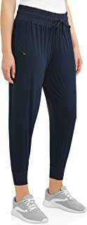Athletic Works Women's Woven Jogger (XS 0-2, Blue)