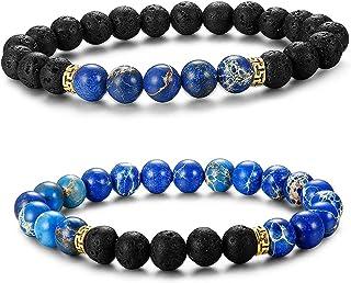 matériaux de haute qualité qualité supérieure taille 40 Amazon.fr : bracelet enfant garcon - Perle : Bijoux