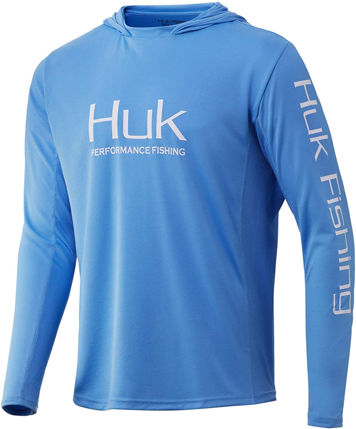 Huk Men's Icon X Hoodie   Long-Sleeve Performance Shirt with UPF 30+ Sun Protection : Sports & Outdoors