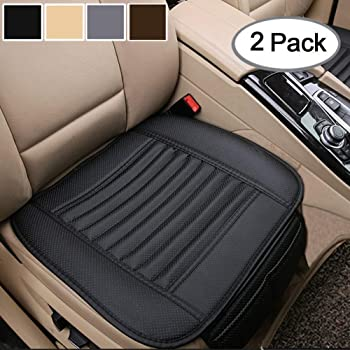 """Black- Back Row 58.3/"""" x 18.9/"""" Nonslip Rear Car Seat Cover Breathable Cushion Pad Mat for Vehicle Supplies with PU Leather Big Ant"""
