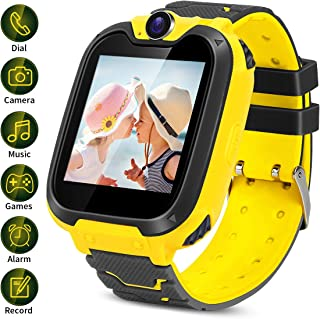 Kids Smartwatch with Two-Way Call SOS Games Camera Music,1.54 inch Touch Screen for Boys Girls Birthday