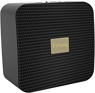 Bluetooth Speaker Portable Bluetooth Wireless 5.0 Stereo Speaker Built-in Microphone for iPhone, iPod, Ipad, Samsung, Smartphones, Tablets and More