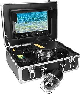 Dome LEDs Vissen Video Monitor 360 ° Roterende Panoramische IP68 Camera voor Snorkelen