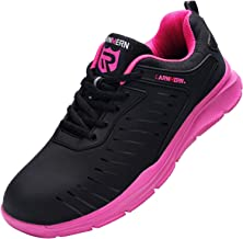 LARNMERN Steel Toe Shoes Men Women Lightweight Puncture Proof Breathable Sneakers
