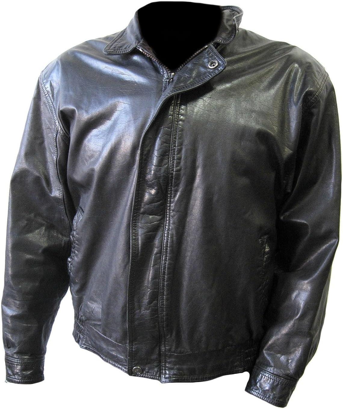 Classyak Men's Fashion Stylish Real Leather Jacket